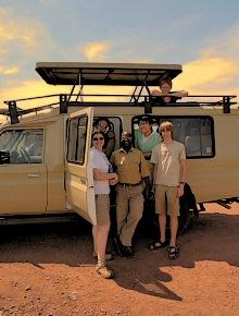 client safaris uganda