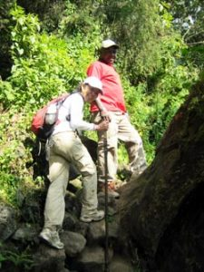 Dian fossey hiking